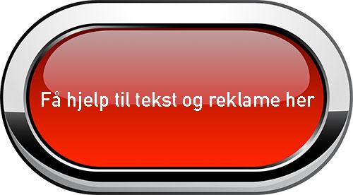 Rød knapp med teksten: Få hjelp til tekst og reklame her